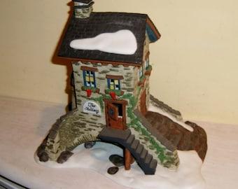 Dickens Village House The Maltings 1995 Dept 56 Christmas Porcelain Vintage