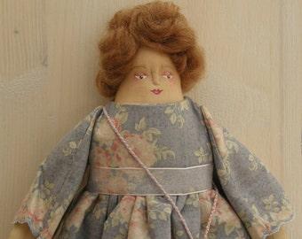 Aefre - A Folk Art Rag Doll