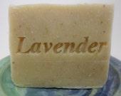 Lavender Oatmeal Soap - Gentle soap - Handmade Soap - Cold process soap - Vegan Soap - Aquarian Bath
