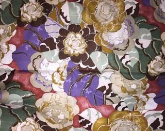 "Benadictus Victoria & Albert Museum PWVA01 Floral Free Spirit Floral Designer Quilting 18"" BTHY Westminster Half Yard 18"" Quilt Fabric HY"