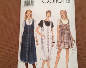 Vogue Easy Options Sewing Pattern 9440- Womens Jumper  sz 14, 16, 18