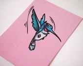 Flit - Pocahontas - Postcard