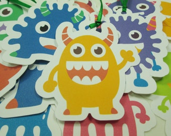Monster Gift Tags
