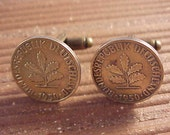 Germany Coin Cuff Links