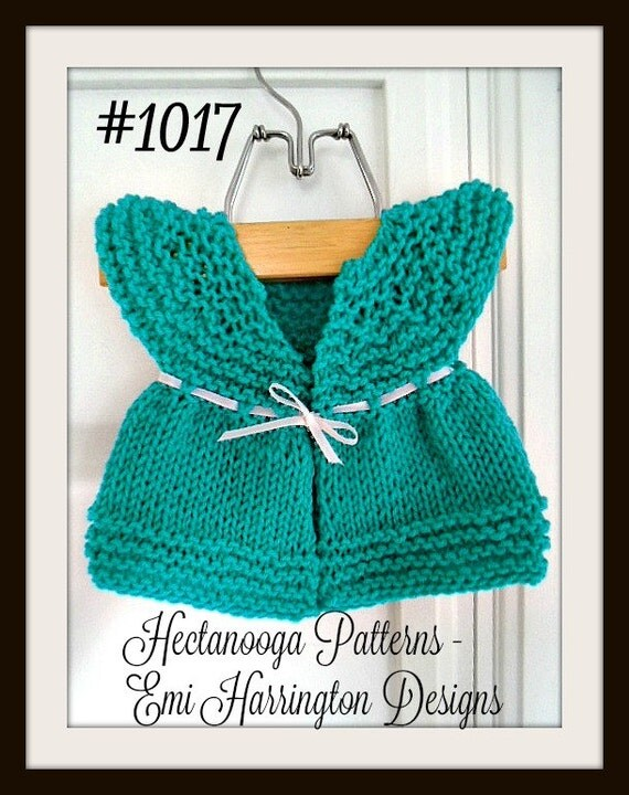 Knitting Patterns For Beginners Vest : Knit Baby Sweater Teal Baby Vest Baby clothing Knitting