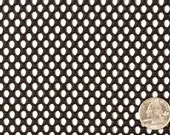"""Black Nylon Mesh Fabric 1 yard x 62"""" wide Great for Camping, Sports Gear Sturdy Breathable Utility BTY"""