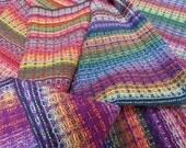 Handwoven Dishtowel Tea Towels - Rainbow Random