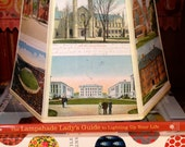 Harvard Lamp Shade Lampshade Vintage Postcards, 7x10x7 Clip Desk Shade, Graduation Gift, Cambridge MA - Alumni Desk Shade