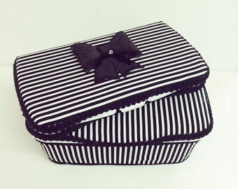 Black and white stripes diaper wipes case Set of 2 black sequence bow wipe case glitzy black bow baby wipe case glitter baby gift