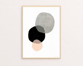 Circles Two Sizes - Print Or Poster