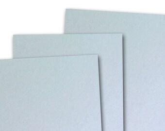 Basis LIGHT BLUE 80lb Card Stock 8.5x11 - 25 sheets