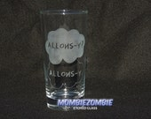 Doctor who Allons-y? Allons-y. Clouds Etched Glass TFIOS inspired