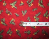 RJR Special Occasions 6017-4 Red Quilting Fabric