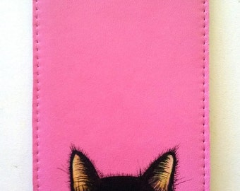 Curious cat iPhone iPod sleeve
