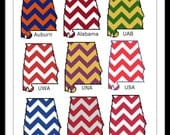 Map of Alabama - school colors - counted cross stitch chart - downloadable file