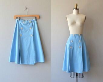 Hopskip skirt | vintage 1960s skirt | cotton a-line 60s skirt
