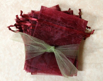 Organza Bags 3x4 Pick your color-pick your quantity