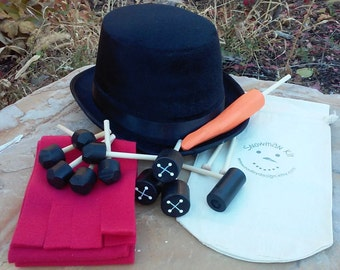 Snowman Kit with Top Hat