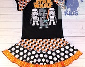 A dress made out of authentic STAR WARS tee.. cool funky recycled upcycled  pieced  dress or tunic size 6