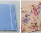 Denim Floral Kindle Paperwhite Cover, Nook Glowlight Plus Cover, choose your custom interior, all sizes available