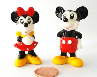 Mickey and Minnie Mouse Figurines