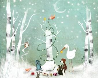 An Enchanted Christmas - open edition print