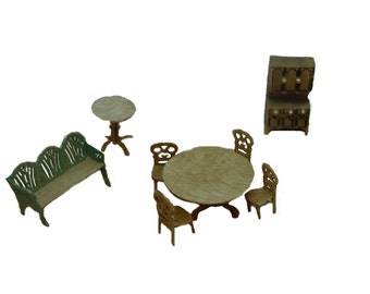 Clearance - 144th Inch Scale Colonial Style Dining Room Furniture Kit
