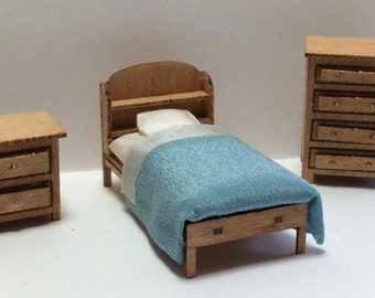 Quarter Inch Scale Country Style Child's Room Furniture Kit