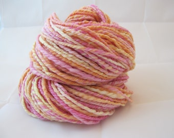 Handspun Yarn Merino Worsted Weight 5.78 ounces