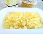 Salt Soak, Lemon Sugar Fragrance, Natural Sea Salts, Relaxing bath experience, choice of size