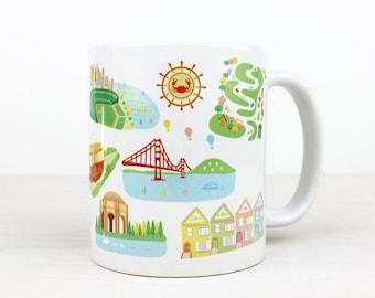 SF Landmarks Mug