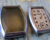Vintage  Watch parts - watch Cases -  Steampunk - Scrapbooking y79