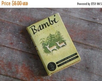 ON SALE Miniature Book --- Bambi