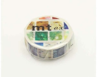 mr ex - acrylic - washi masking tape - 15mm x 10m x 1 roll