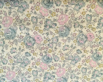 liberty of london -special limited print - felicite - pink, blue and cream