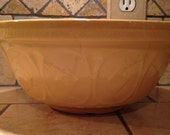 RESERVED Large Stoneware Mixing Bowl