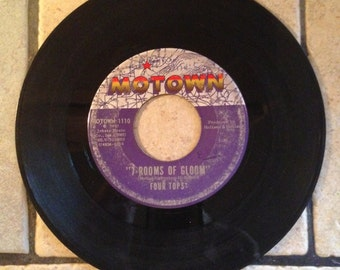 I'll Turn To Stone/7 Rooms of Gloom by The Four Tops Record by Motown Records