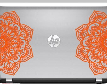 Mandala Laptop  Decal -  Mandala Decal -  Mandala Sticker - Laptop Decal - Decals