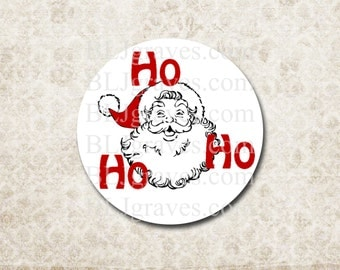 Christmas Stickers Santa Envelope Seals Party Favor Treat Bag Stickers CS007