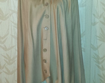 Philippe Venet Cashmere Blend Cape poncho  Made in France