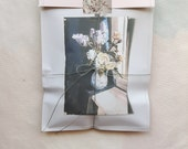 The Linen Garden Machine Sewn Gift Bags - Floral Painting
