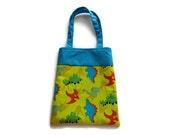 Fabric Dinosaur Gift Bag/Goodie Bag - Dinosaurs