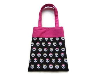 Skull Gift Bag - Goodie Bag - Mini Tote