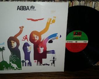Abba The Album Vintage Vinyl Record