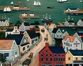 Nantucket Harbor Print