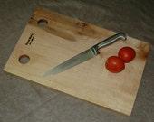 Hard Sugar Maple Cutting Board - One Piece - Wood Burned