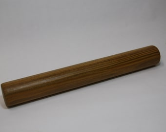 Wooden Rolling Pin, Wood Rolling Pin, One Piece Rolling Pin, Argentine Lignum Vitae Wood Rolling Pin, 14 Inches Long