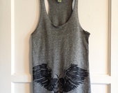 Owly Tank Top grey size small