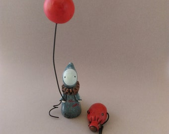Clear Blue Sky Poppet  - Limited Edition #6/50