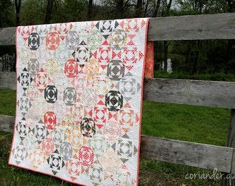 Droplets PDF Quilt Pattern #109